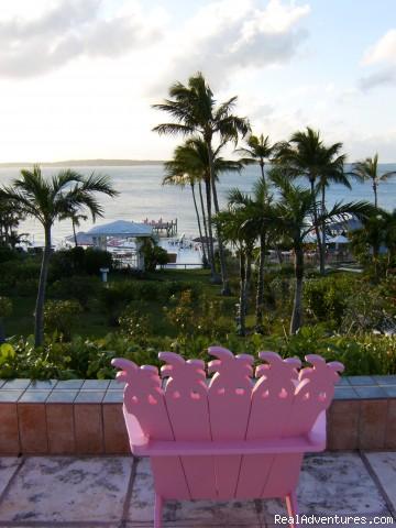 Main Lobby Terrace - Romora Bay Club, Harbour Island, Bahamas