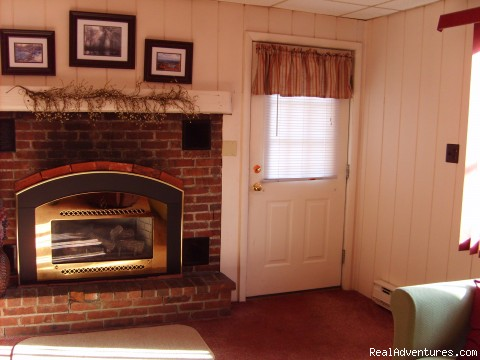 Cottage Fireplace - Mt. Haven Country Resort & Restaurant