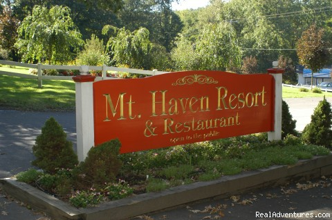 Main Entrance - Mt. Haven Country Resort & Restaurant