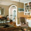 Front hallway and livingroom/library
