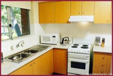 Fully equipped kitchen - Parramatta Serviced & Furnished Apartments, Sydney