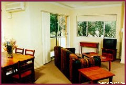 Lounge & dining areas - Parramatta Serviced & Furnished Apartments, Sydney