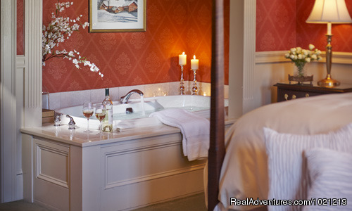 Green Mountain Inn -  Stowe, Vermont: A Warm & Cheery Inn on a Winter Evening