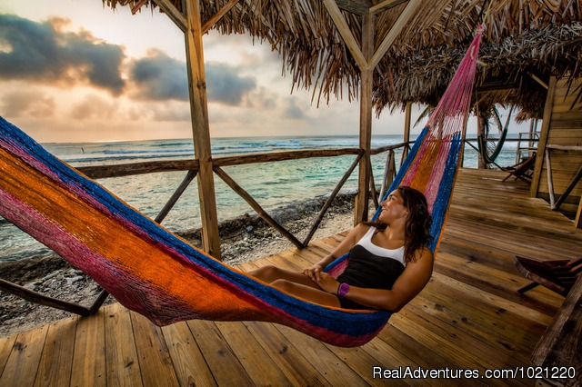 Long Caye cabana - Belize Adventure Week, 15 sports in 8 days