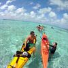 Kayak launch beach