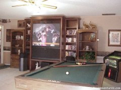 Recreation Room (#2 of 7) - Sassafras Inn Bed & Breakfast (Memphis Area)
