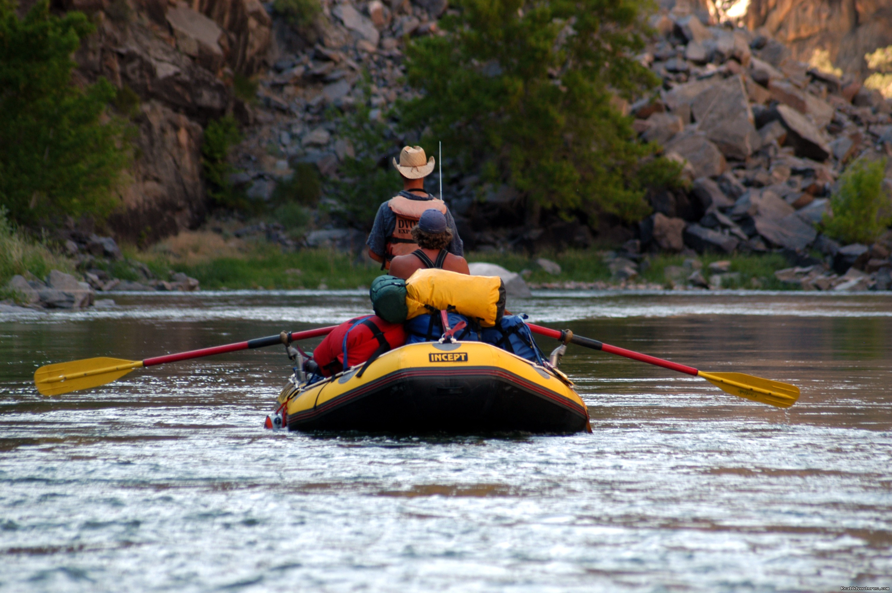 Black Canyon of the Gunnison River Gorge - Rafts