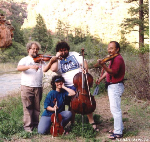Philharmonic String Quartet Concert Trips - Bill Dvorak Rafting, Kayak & Fish Exp.Since 1969