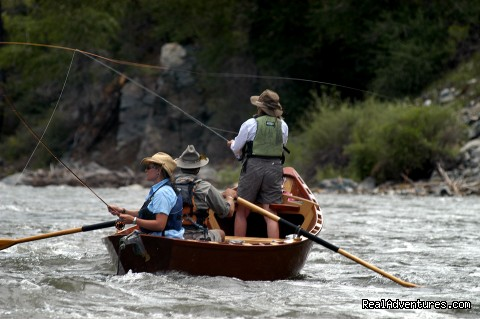 Drift boat FLOAT fishing trips in Colorado - Bill Dvorak Rafting, Kayak & Fish Exp.Since 1969