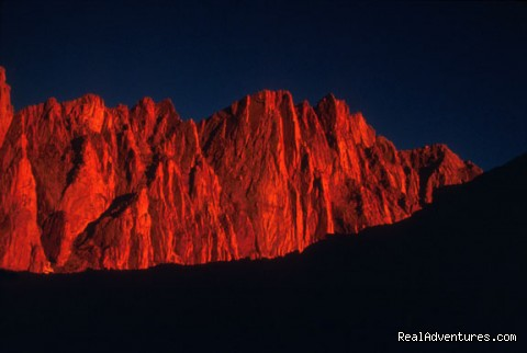 Mt Whitney (photo: Jay Ericson) - Southern Yosemite Mountain Guides