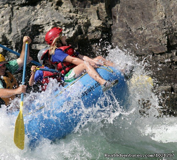 Bow Rider! | Image #1/2 | Boise, Idaho  | Rafting Trips | Family Rafting Vacations