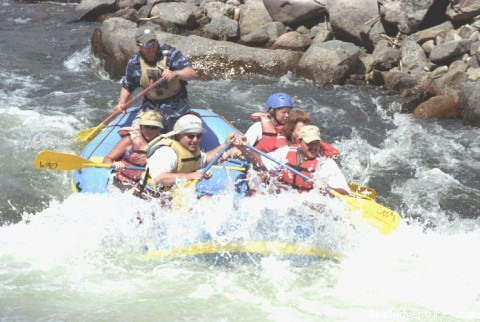 Whitewater Adventure Outfitters Rafting Trips Canon City, Colorado