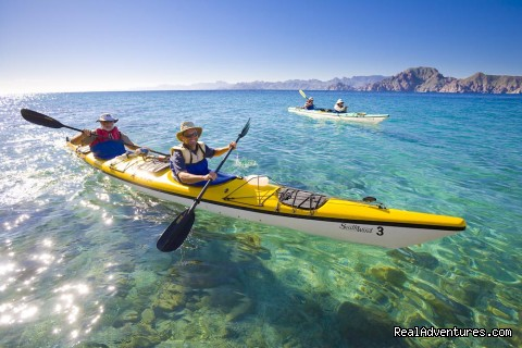 Sea Kayaking Sea of Cortez - Baja - Sea Kayak Vacations & Whale Adventures in Baja/BC