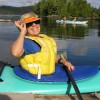 Kayaking Vancouver Island BC Canada