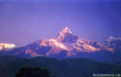 A Getaway! Himalayan Eco-Trekking Fish Tail mountain - Annapurna Range