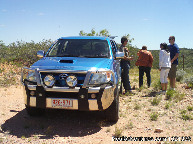 Personalized 4x4 adventures in the outback