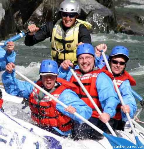 Kumsheen Rafting & Adventure Resort Rafting Trips Lytton, British Columbia