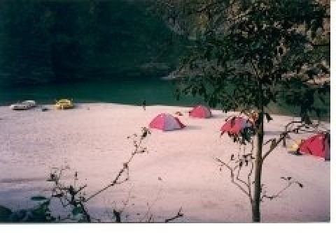 Camp on an expedition - Aquaterra Adventures, INDIA