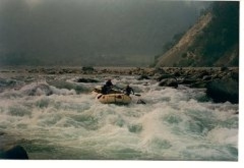 On the Kali river - Chooka - Aquaterra Adventures, INDIA
