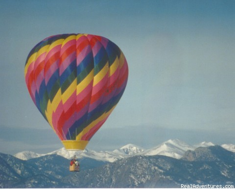 Ballooning in Colorado - Hot Air Balloon Flights