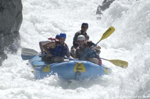 Exciting rafting on the Middle Fork American River - California rafting from Mild to Wild - many rivers
