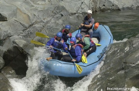 North Fork American spring thrills - California rafting from Mild to Wild - many rivers