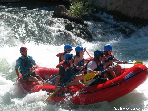 Lake Tahoe whitewater rafting on the Truckee River - California rafting from Mild to Wild - many rivers