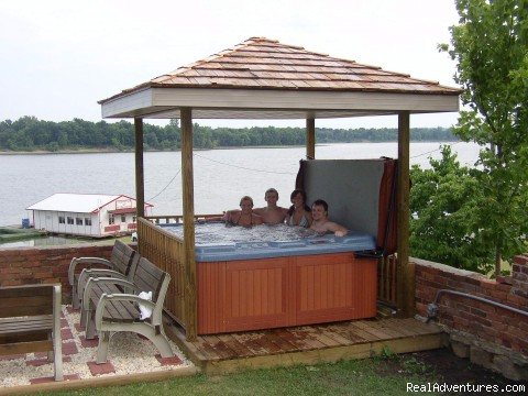 Outdoor Jacuzzi - River Rose Inn Bed & Breakfast