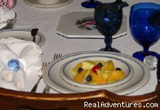 Breakfast starts with fruit (#6 of 6) - Granny's house welcomes you......