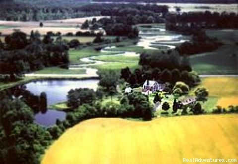 Bird's Eye View of the Waterloo - Waterloo Country Inn