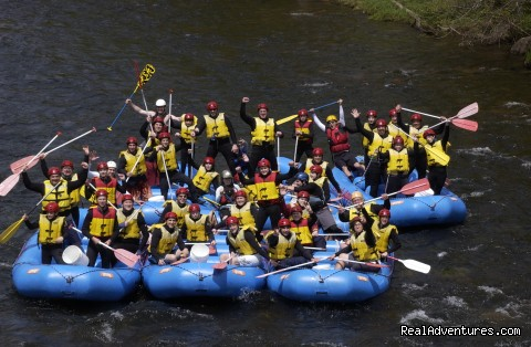 Youth Organizations have a blast with Crab Apple - Crab Apple Whitewater Rafting in New England