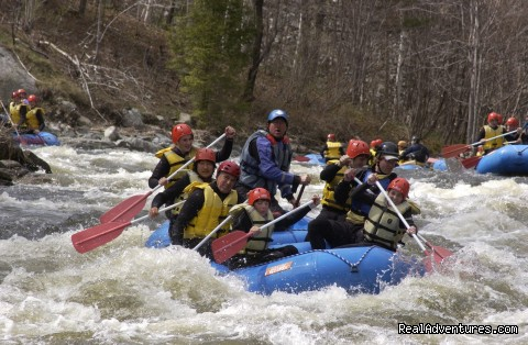 West River - southern Vt near MT Snow - Crab Apple Whitewater Rafting in New England