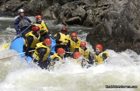 Deerfield River - Zoar Gap - Crab Apple Whitewater Rafting in New England