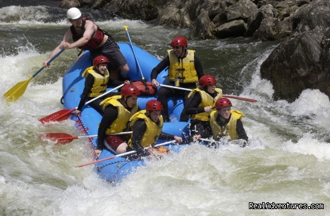 Guides work hard and make it fun at Crab Apple (#10 of 10) - Crab Apple Whitewater Rafting in New England
