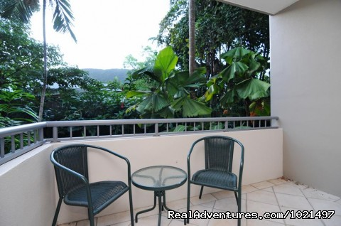 Rear balcony mountain view - Oasis at Palm Cove