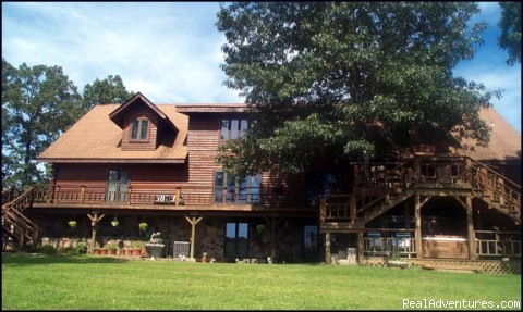 Rustic Luxury at the Buffalo River Lodge