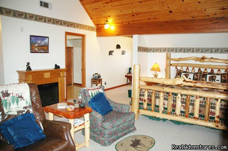 Rocky MTN. room (#5 of 18) - Rustic Luxury at the Buffalo River Lodge