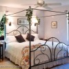 Silver Bedroom at House on Watauga Lake