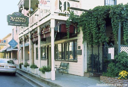 Historic Gold Rush National Hotel near Yosemite