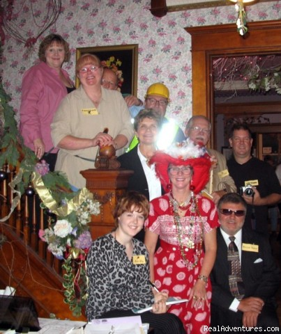 Mystery Dinners with Dinners to Die For! - Blue Belle Inn B & B and Victorian Tea House