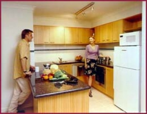 Full kitchen Facilities - Waitara Waldorf Apartments