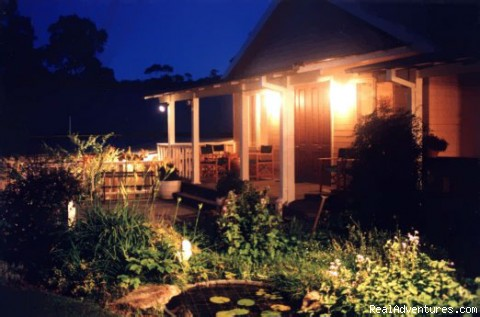 Romantic at night - Kemeys Mountain Hideaway