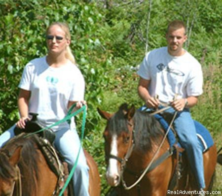 Horseback riding - Gunflint Lodge-family vacations in northeast MN