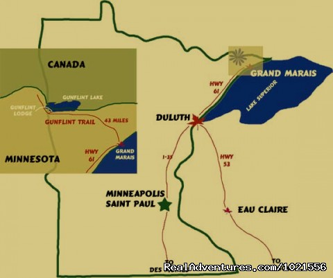 Resort location in northeastern Minnesota - Gunflint Lodge-family vacations in northeast MN