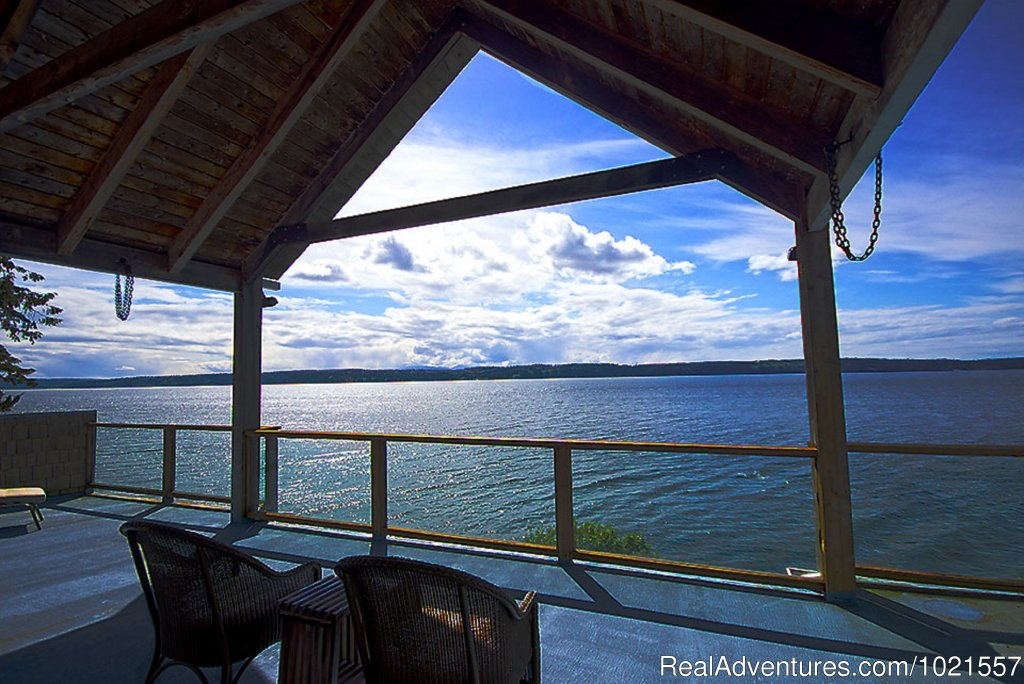 Upper Deck...for your viewing pleasure | Image #4/25 | Camano Island Waterfront Inn