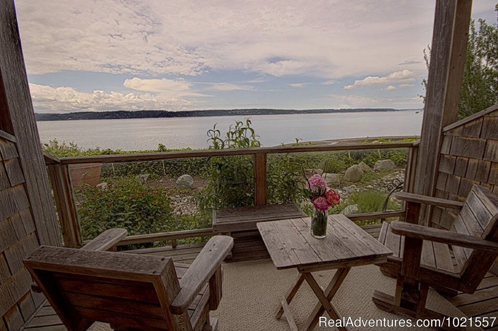 Room 1 outside deck | Image #18/25 | Camano Island Waterfront Inn