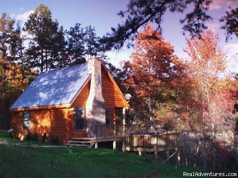 MacLeod cabin in autumn