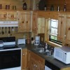 MacLeod cabin kitchen