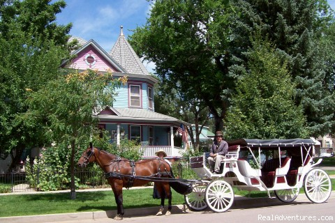 Perhaps a romantic carriage ride for 2?