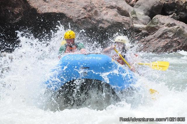 Royal Gorge Section - CO. Whitewater Rafting and Guided Float Fishing